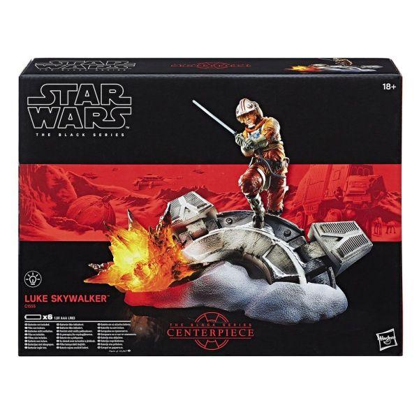 x_hasc1555 Star Wars Black Series Centerpiece Diorama Akciófigura - Luke Skywalker 15 cm