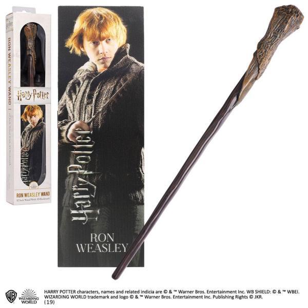x_nob6313 Harry Potter PVC Wand Replica - Ron Weasley varázspálcája 30 cm