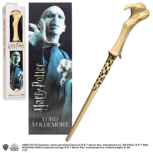 x_nob6317 Harry Potter PVC Wand Replica - Lord Voldemort varázspálcája 30 cm