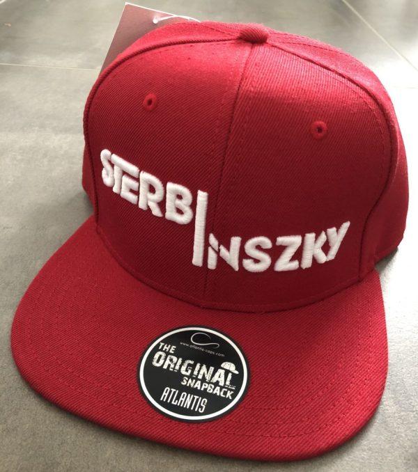 IMG_3177 Sterbinszky - Piros Snapback varrott sapka