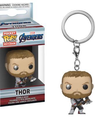 x_fk36679 Avengers Endgame Funko Pocket POP! Kulcstartó – Thor 4 cm