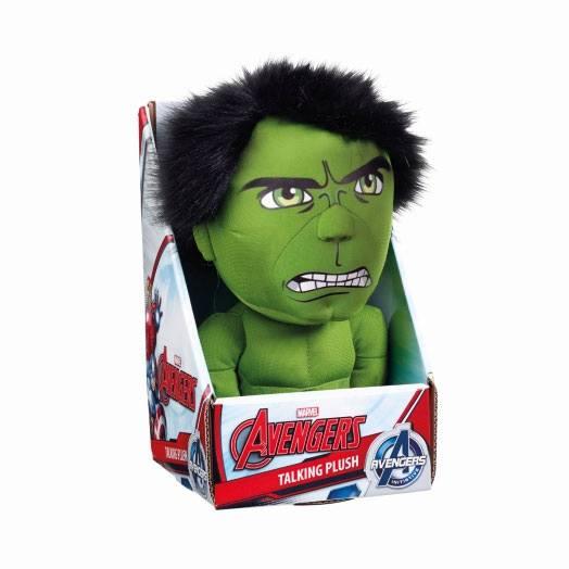 x_ugtavg01835 Marvel Beszélő Plüss figura - Hulk 23 cm *English Version*