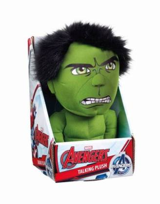 x_ugtavg01835 Marvel Beszélő Plüss figura - Hulk 23 cm *English Version*