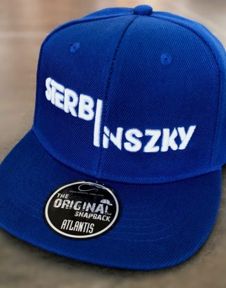 Sterbinszky - Kék varrott snapback sapka