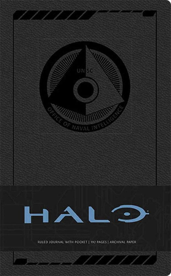 x_isc87426 Halo Jegyzetfüzet - Ruled Journal Logo