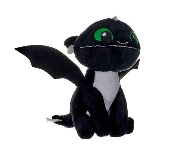 x_joy12439_b How to Train Your Dragon 3 plüss - Fekete sárkány 18 cm