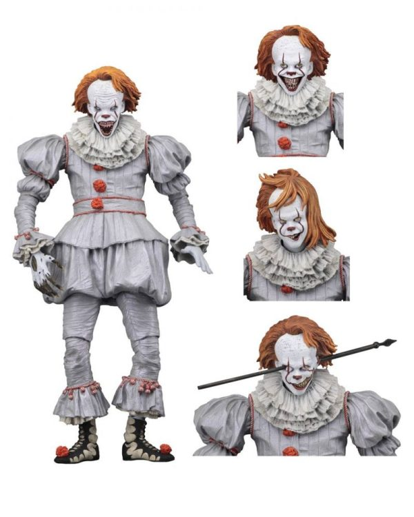 x_neca45467 Stephen King's It 2017 - Ultimate Pennywise (Well House) akciófigura 18 cm