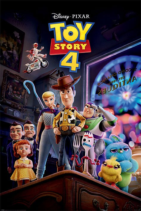 x_pp34506 Toy Story 4 poszter - Antique Shop Anarchy