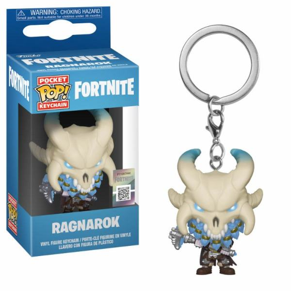 x_fk36977 Fortnite Funko Pocket POP! Kulcstartó – Ragnarok 4 cm Fortnite Pocket POP! Vinyl Keychain Ragnarok 4 cm