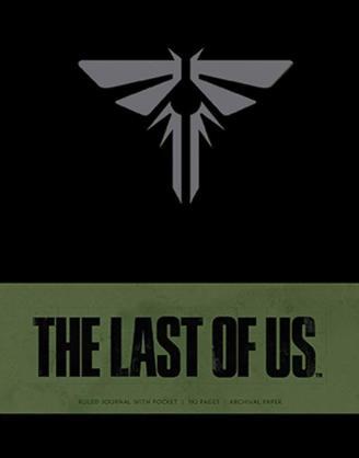 x_isc87398 The Last of Us Hardcover Jegyzetfüzet - Ruled Journal Logo