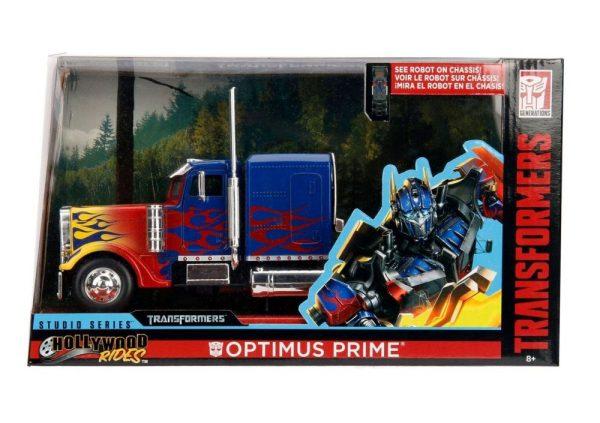 x_jada30446_d Transformers Diecast Model 1/24 - T1 Optimus Prime