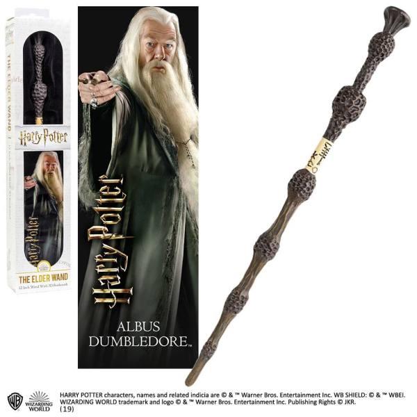 x_nob6322 Harry Potter PVC Wand Replica - Albus Dumbledore varázspálcája 30 cm
