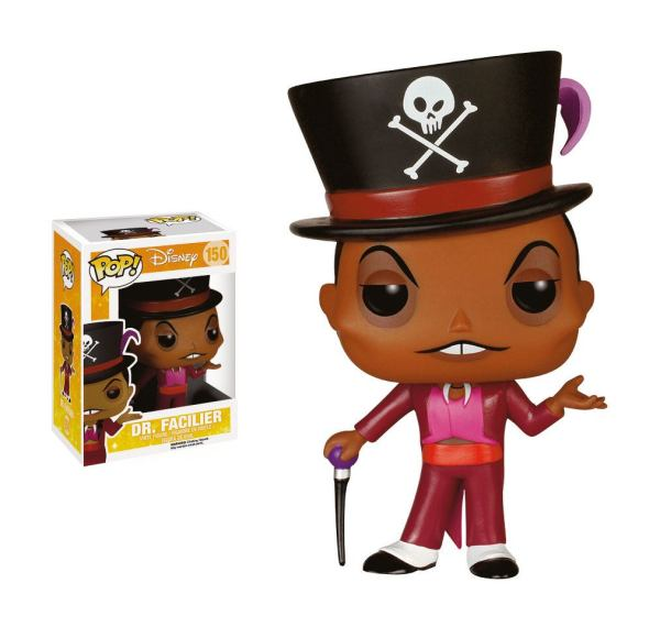 x_fk5088 The Princess and the Frog Disney Funko POP! figura - Dr. Facilier 10 cm