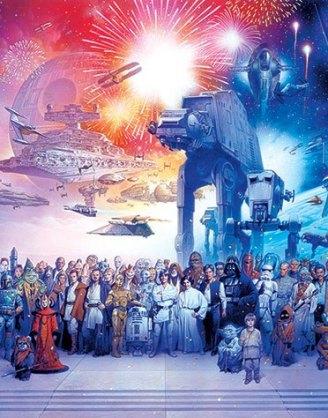 x_pp34551 Star Wars poszter - Universe 61 x 91 cm