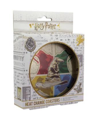 x_pp4950hp Harry Potter hőre változós Poháralátét 4db Sorting Hat