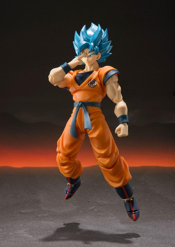 Dragonball Super Broly S.H. Figuarts Akciófigura - Super Saiyan God Super Saiyan Goku Super 14 cm BTN55700-1