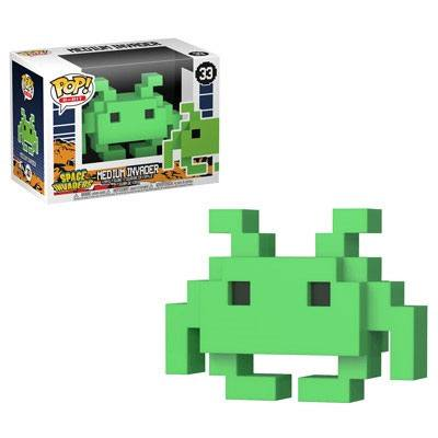 x_fk32454 Space Invaders Funko POP! figura - Medium Invader 9 cm