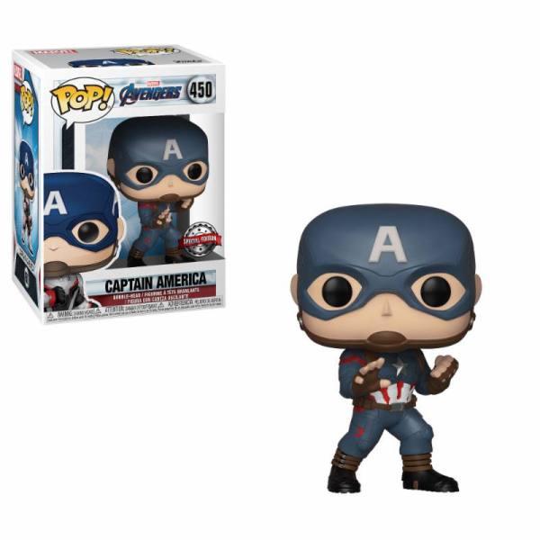 x_fk36676 Avengers Endgame POP! figura - Captain America Special Edition 9 cm