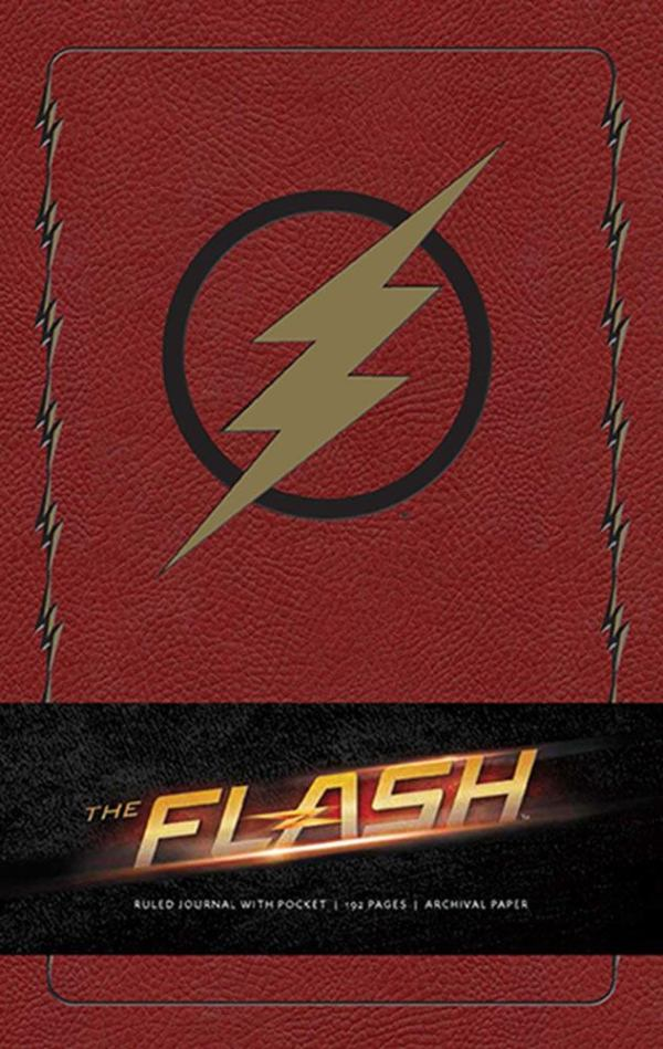 x_isc87727 The Flash Hardcover Jegyzetfüzet - Ruled Journal Logo