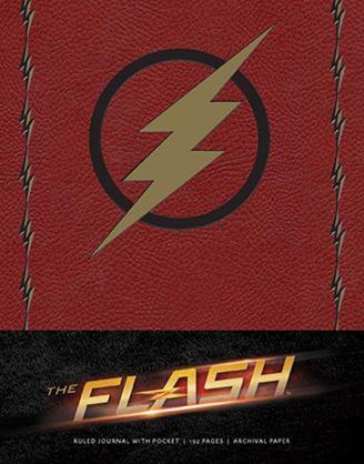 x_isc87727 The Flash Hardcover Jegyzetfüzet - Ruled Journal Logo