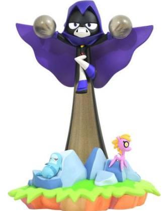 d_diamnov192328 DC Gallery Teen Titans Go! PVC Szobor - Raven 23 cm