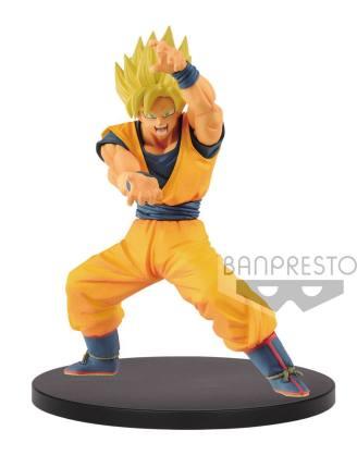 x_banp85454 Dragonball Super Chosenshiretsuden PVC Szobor - Super Saiyan Goku 16 cm