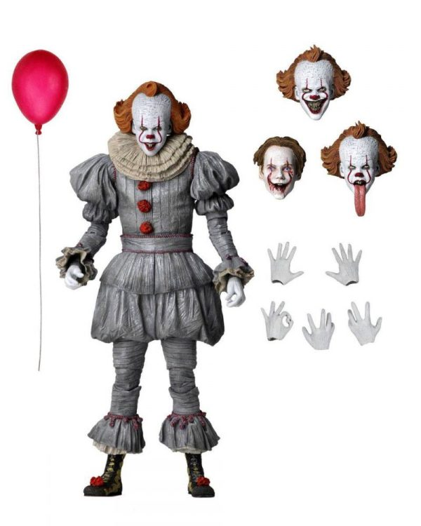 x_neca45454 It Chapter Two - Ultimate Pennywise akciófigura 18 cm
