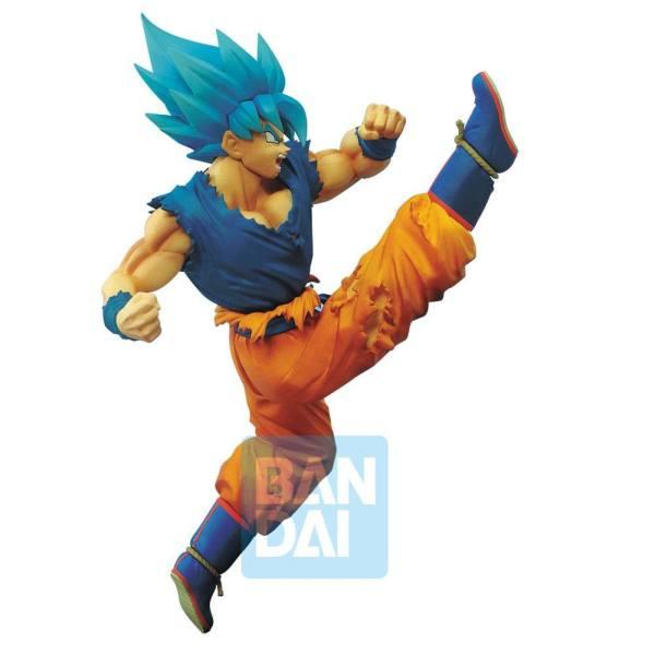 x_banp85195 Dragon ball Super Z-Battle PVC Szobor - Saiyan God Super Saiyan Son Goku 16 cm