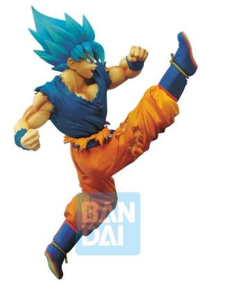 x_banp85195 Dragon ball Super Z-Battle PVC Szobor - Saiyan God Super Saiyan Son Goku 16 cm