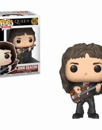 x_fk33728 Queen Funko POP! Rocks Figura - John Deacon 9 cm