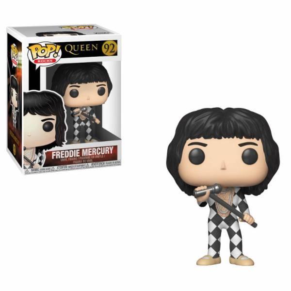 x_fk33731 Queen POP! Rocks Vinyl Figure Freddie Mercury 9 cm