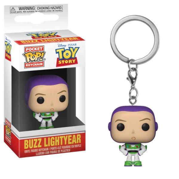 x_fk37019 Toy Story Pocket POP! kulcstartó - Buzz 4 cm