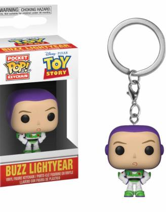 x_fk37019 Toy Story Pocket POP! kulcstartó - Buzz 4 cm