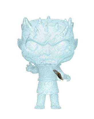 x_fk44823 Game of Thrones / Trónok harca Funko POP! Figura - Crystal Night King w/Dagger in Chest 9 cm