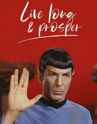 x_pp34564 Star Trek poszter - Live Long and Prosper 61 x 91 cm