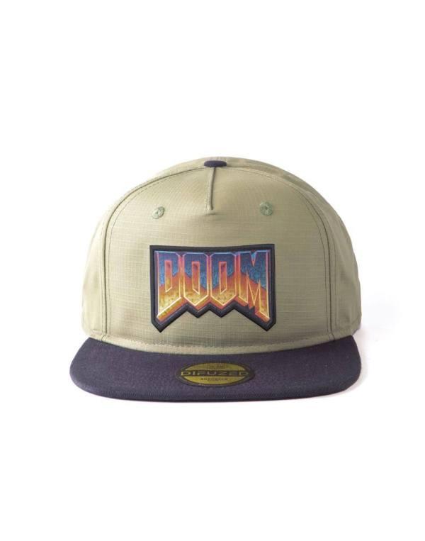 Doom Snapback sapka - Eternal Retro Logo