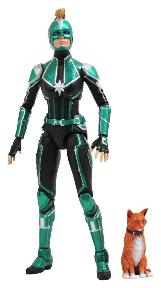 Captain Marvel Marvel Select Akciófigura - Captain Marvel Starforce Uniform 18 cm