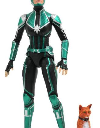 Captain Marvel Marvel Select Akciófigura - Captain Marvel Starforce Uniform 18 cm