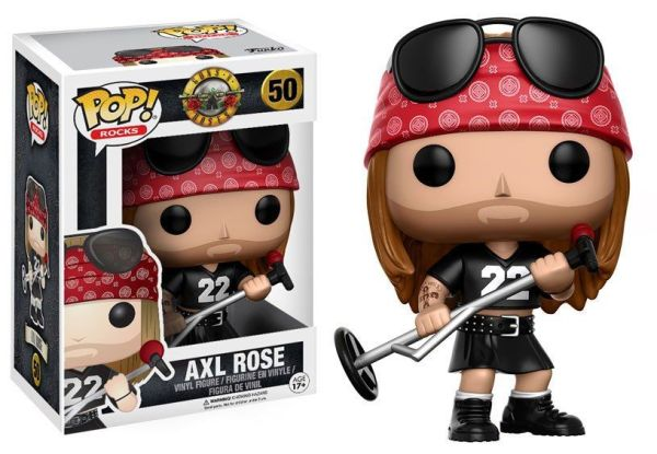 Guns N´ Roses Funko POP! Rocks Figura - Axl Rose 9 cm