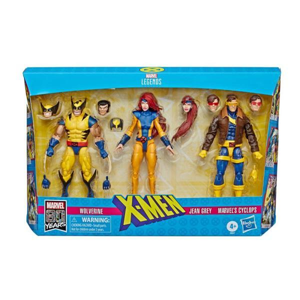 Iron Man Marvel Legends Akciófigura 3-Pack - X-Men Wolverine, Jean Grey & Cyclops 15 cm
