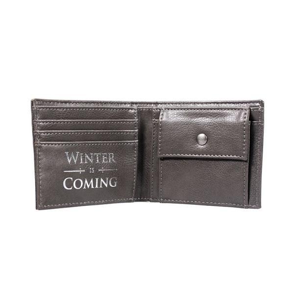 x_hmb-walbgt01 Game of Thrones / Trónok harca - Stark pénztárca