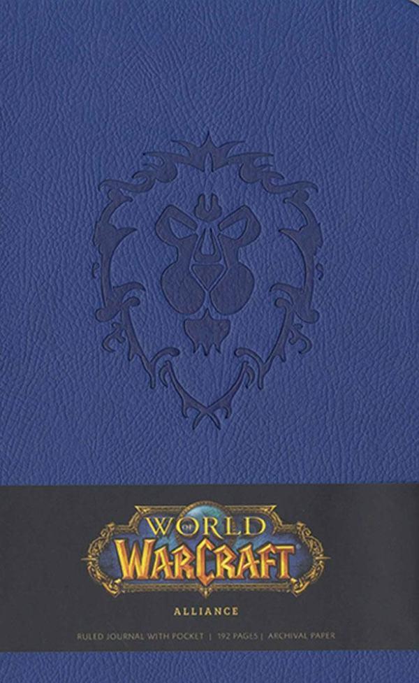 World of Warcraft Hardcover Jegyzetfüzet - Alliance
