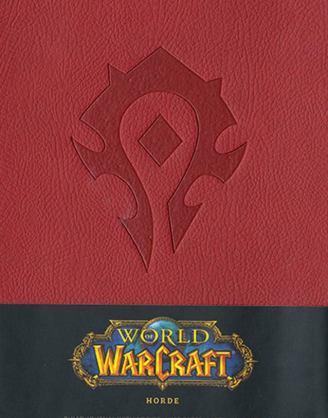 World of Warcraft Hardcover Jegyzetfüzet - Horde