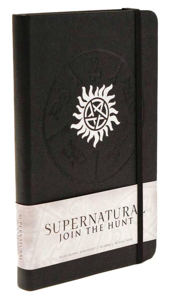 Supernatural Hardcover Jegyzetfüzet - Logo