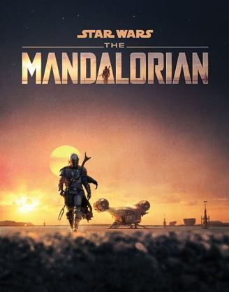 Star Wars The Mandalorian poszter - Dusk 61 x 91 cm