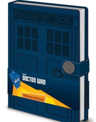Doctor Who Premium Jegyzetfüzet A5 - Tardis