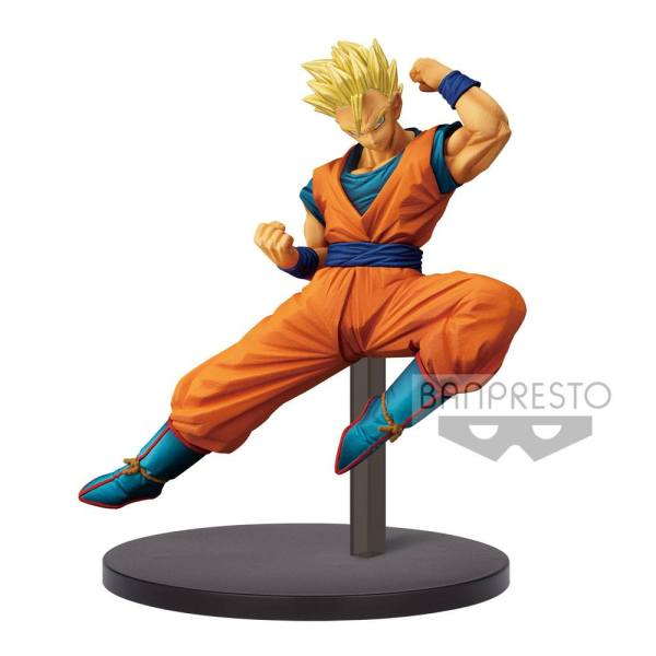 Dragon Ball Super Chosenshiretsuden PVC Szobor - Super Saiyan Son Gohan 16 cm
