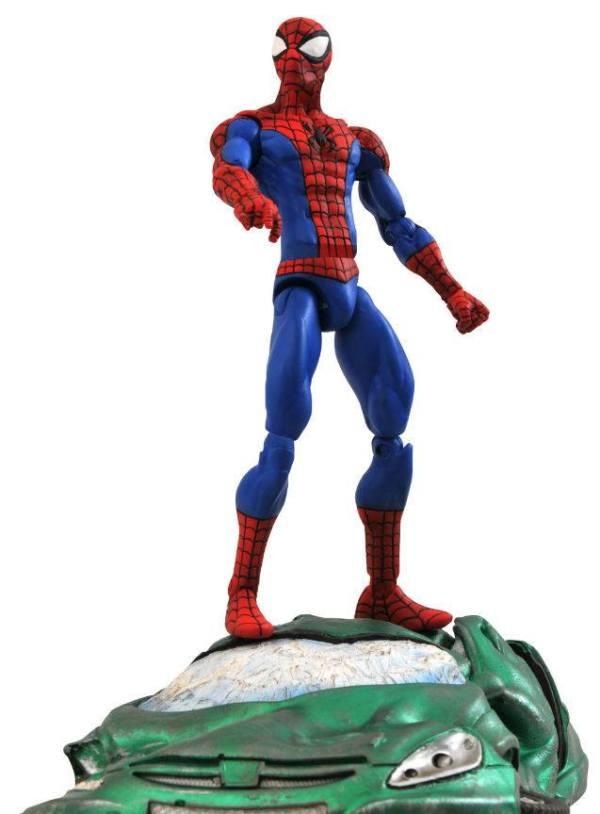x_diamjul091428 Marvel Select Akciófigura - Classic Spider-Man 18 cm