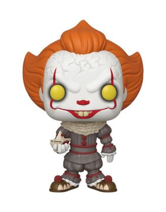 Stephen King's It 2 Super Sized Funko POP! Figura - Pennywise w/ Boat 25 cm