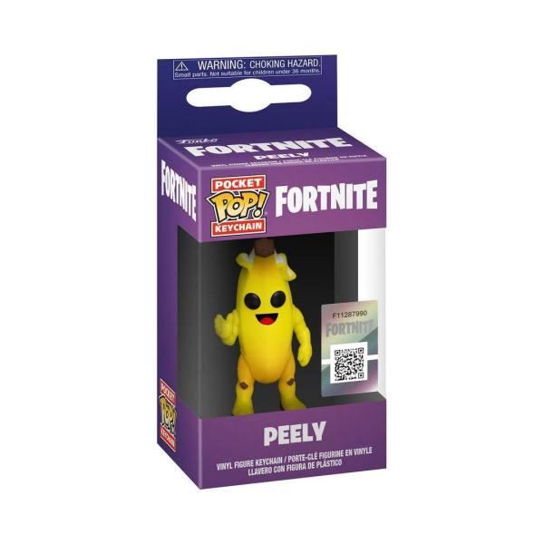 x_fk45713 Fortnite Funko Pocket POP! Kulcstartó – Peely